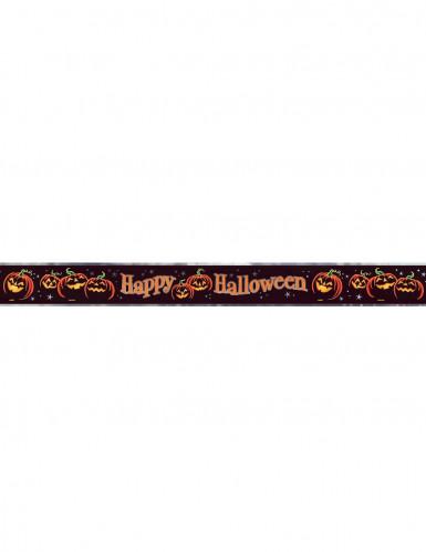 Halloween girlande schwarzer k rbis 4 meter lang - Halloween girlande ...
