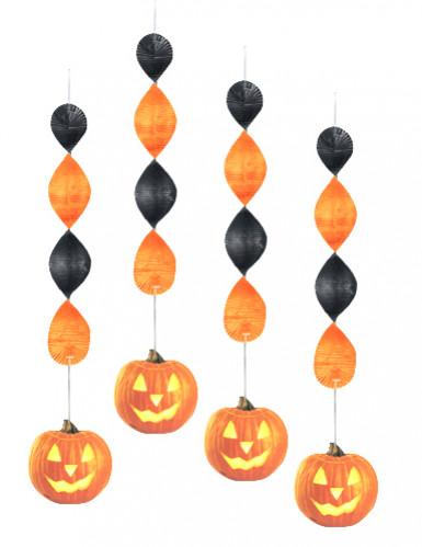 Kürbis-Hängedeko für Halloween