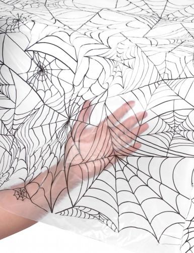 Halloween Spinnennetz-Kunststofftischdecke-1