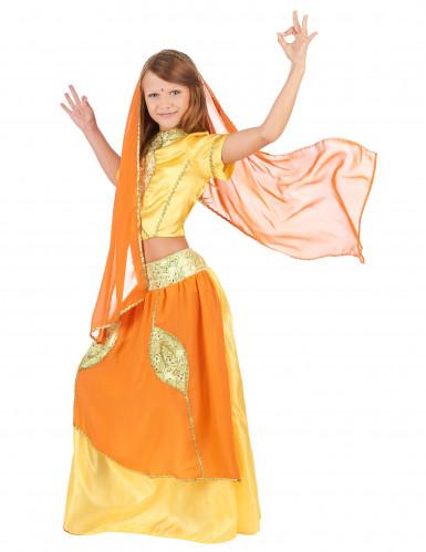 Bollywood Prinzessin Kinderkostüm für Mädchen-1
