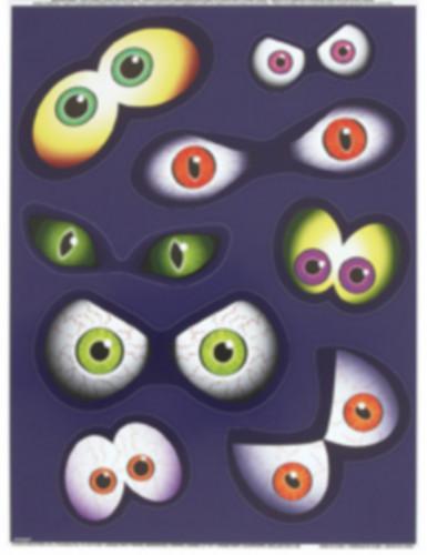 Halloween Augen-Aufkleber für Fenster