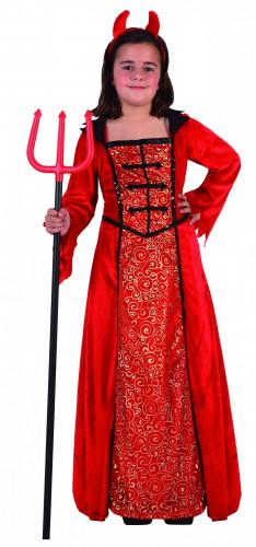 Halloween Dämon-Kostüm für Mädchen