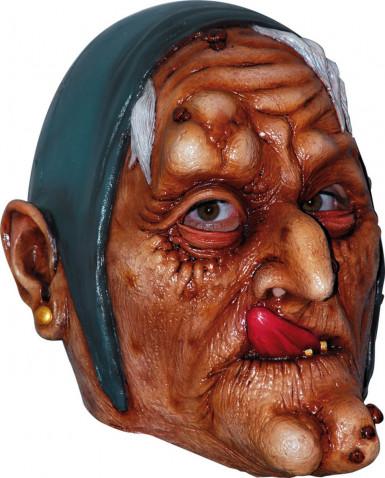 Alte Hexe Maske für Erwachsene Halloween