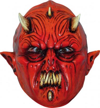 rote Dämon Monster Maske Halloween für Erwachsene