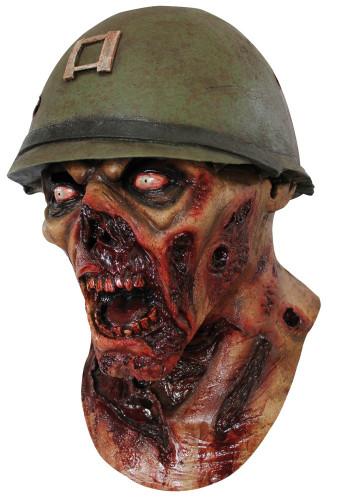 Soldaten Zombie Maske Halloween für Erwachsene