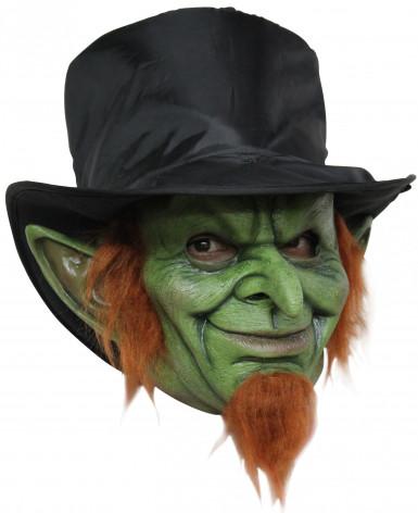grüne Zwergen Maske Halloween für Erwachsene