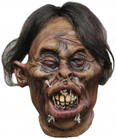 Schrumpfkopf-Dekoration für Halloween 20 x 20 x18 cm