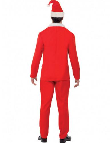 Weihnachtsmann Anzug für Herren-1