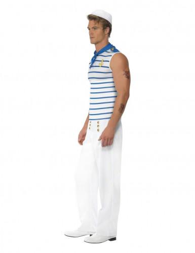 Seemanns-Kostüm für Herren weiss-blau-2