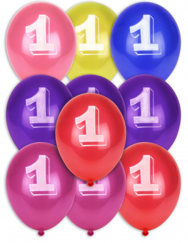 8 Luftballons - Ziffer 1
