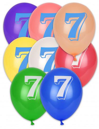 8 Luftballons - Ziffer 7