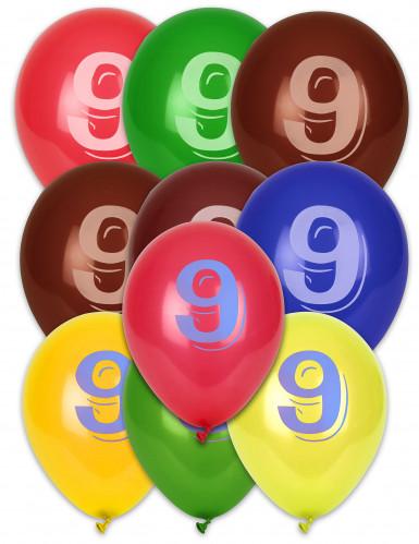 8 Luftballons - Ziffer 9