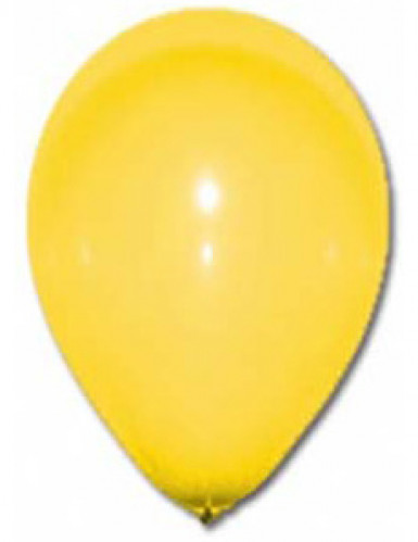 12 Luftballons - gelb