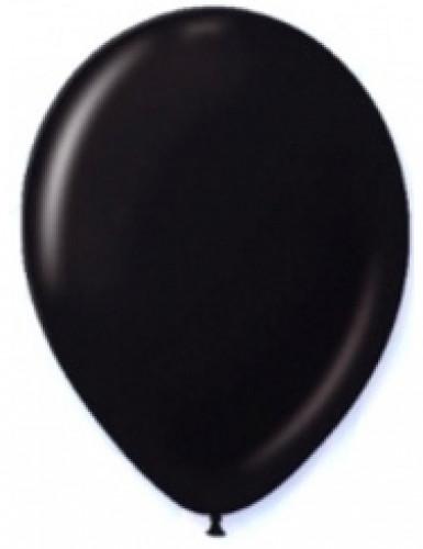 12 Luftballons schwarz