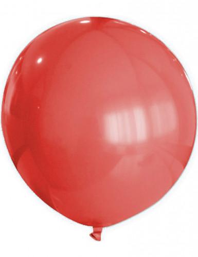 Riesiger roter Luftballon