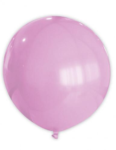 Riesiger rosa Luftballon