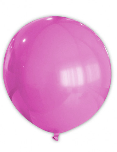 Fuchsiafarbener Riesen-Ballon 80 cm