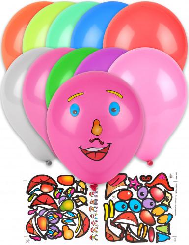 10 individuell gestaltbare Luftballons