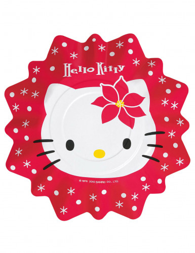 8 hello kitty teller weihnachten partydeko und g nstige. Black Bedroom Furniture Sets. Home Design Ideas