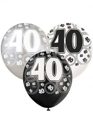 """6 Luftballons """"40 Jahre"""""""