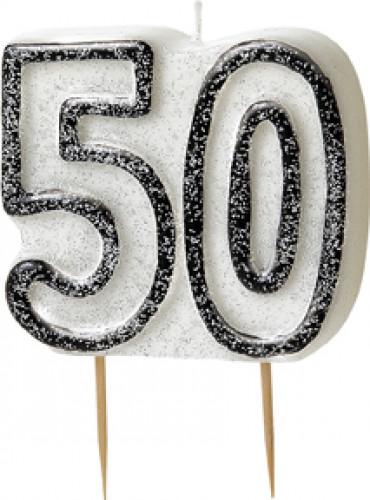 Geburtstagskerze 50 Jahre