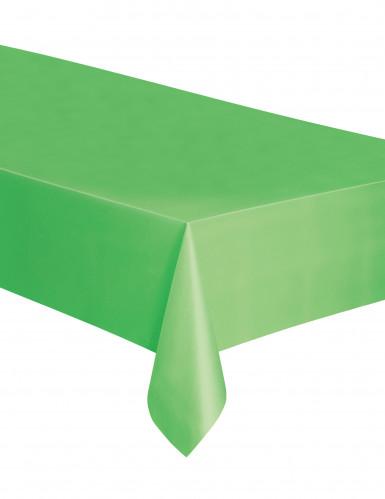Zitron-grüne Tischdecke