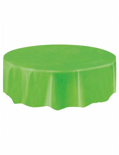 Grüne Tischdecke-1
