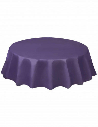 Runde Tischdecke - violett