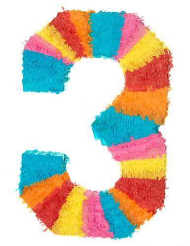 Piñata Zahl 3