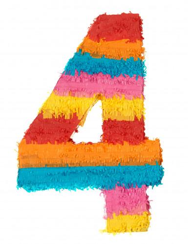 Piñata Zahl 4