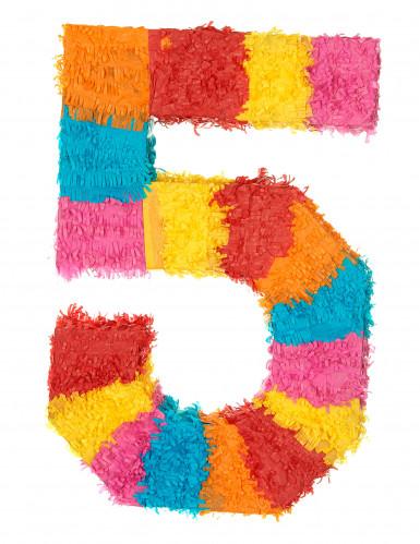 Piñata Zahl 5