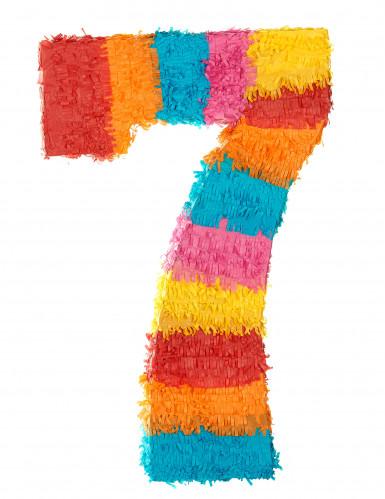 Piñata Zahl 7