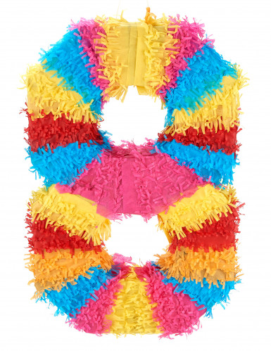 Piñata Zahl 8