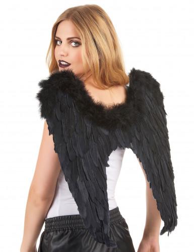 Flügel schwarz für Erwachsene