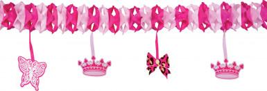 Prinzessinnen-Papiergirlande