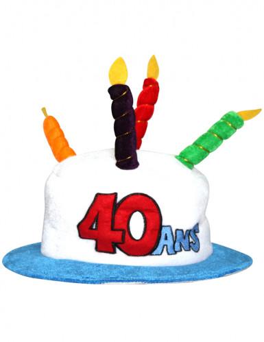 Hut 40 Jahre für Erwachsene