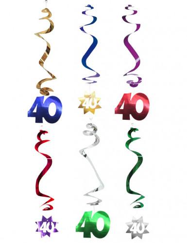 6 Hängedekos - 40 Jahre