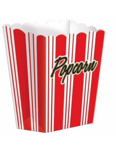 8 Popcorn Papp-Boxen