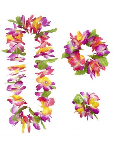 Hawaii-Blumen-Set für Erwachsene-1