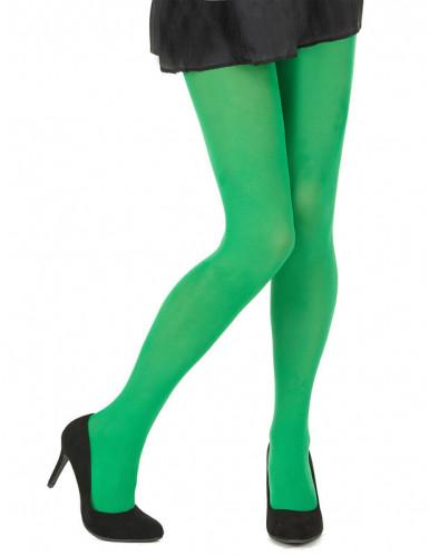 Grüne Strumpfhosen für Damen-1