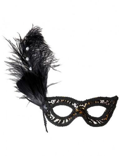Leoparden-Augenmaske für Erwachsene
