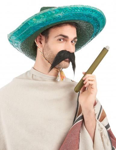 Grüner mexikanischer Sombrero für Erwachsene-1