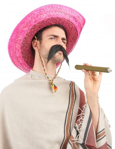 Pinker mexikanischer Sombrero für Erwachsene-1