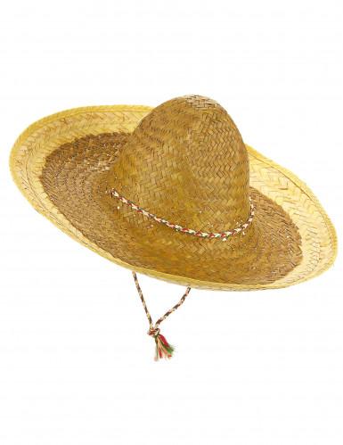 Gelber Sombrero für Erwachsene