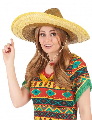 Gelber Sombrero für Erwachsene-2