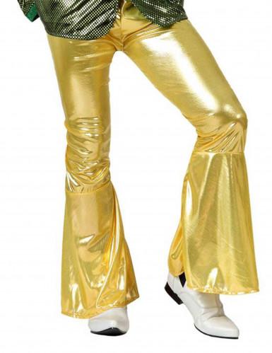 Goldene Disco-Hose für Herren