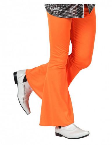 Orangefarbene Disco-Hose für Herren