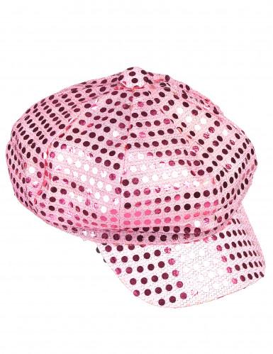 Rosa Disco-Kappe für Erwachsene-1