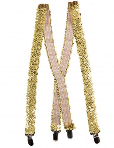 Goldene Pailletten-Träger