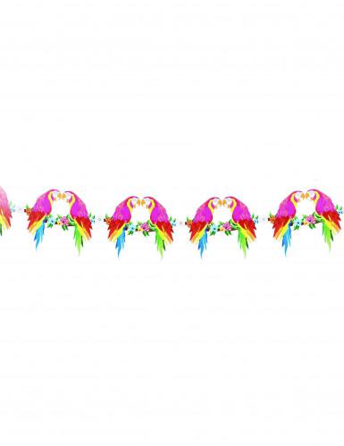 Papagei Girlande Hawaii